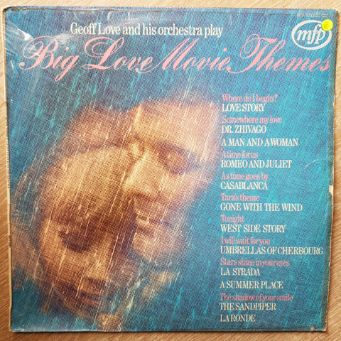 Geoff Love and His Orchestra - Big Love Movie Themes  - Vinyl LP Record - Opened  - Very-Good- Quality (VG-)