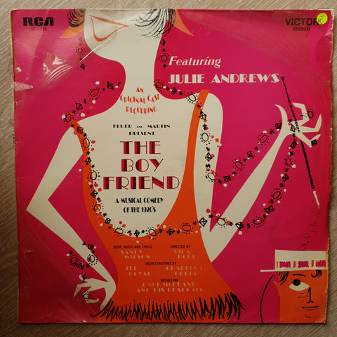Sandy Wilson, Julie Andrews, Feuer & Martin ‎– The Boy Friend - A New Musical Comedy Of The 1920's (An Original Cast Recording)  - Vinyl LP Record - Opened  - Very-Good- Quality (VG-)