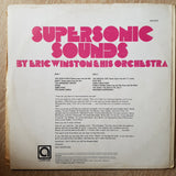 Eric Winston & His Orchestra ‎– Supersonic Sounds -  Vinyl LP Record - Opened  - Very-Good+ Quality (VG+)