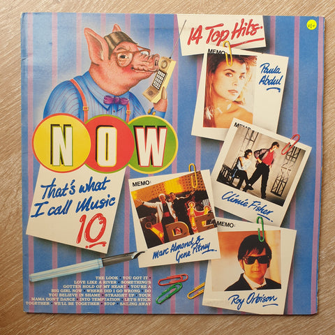 Now That's What I Call Music - Vol 10 - Original Artists - Vinyl LP Record - Opened  - Very-Good+ Quality (VG+)