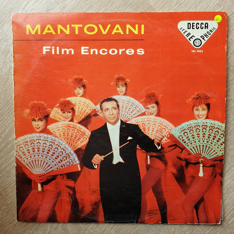 Mantovani And His Orchestra ‎– Film Encores - Vinyl LP Record - Very-Good+ Quality (VG+)