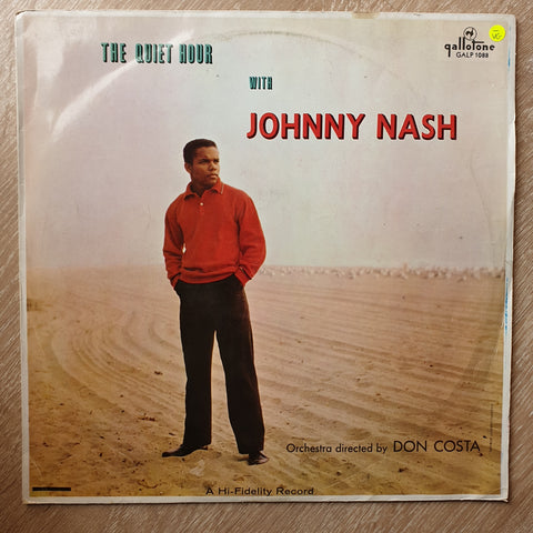 Johnny Nash - The Quiet Hour With Johnny Nash - Vinyl LP Record - Opened  - Very-Good- Quality (VG-)