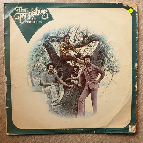 The Temptations ‎– All Directions ‎– Vinyl LP Record - Opened  - Good+ Quality (G+)