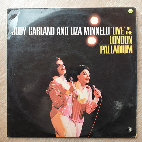 Judy Garland and Liza Minnelli - Live at the London Palladium - Vinyl LP Record - Opened  - Very-Good+ Quality (VG+)