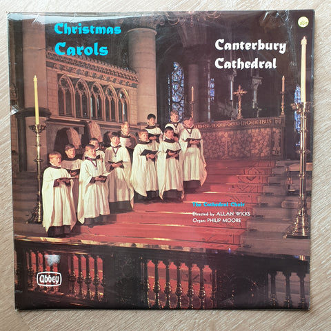 The Cathedral Choir - Canterbury Cathedral - Christmas Carols -  Vinyl LP Record - Very-Good+ Quality (VG+)