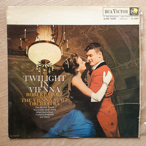 Twilight in Vienna: Robert Stoltz Conducting the Vienna State Orchestra -  Vinyl LP Record - Very-Good+ Quality (VG+)