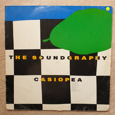 Casiopea ‎– The Soundgraphy ‎– Vinyl LP Record - Opened  - Good+ Quality (G+)