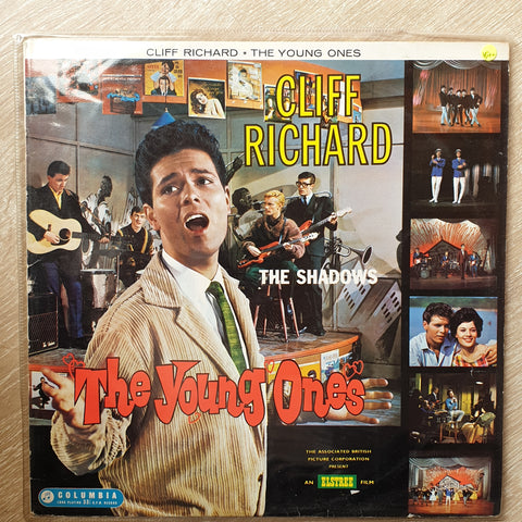 Cliff Richard, The Shadows ‎– The Young Ones -  Vinyl LP Record - Very-Good+ Quality (VG+)