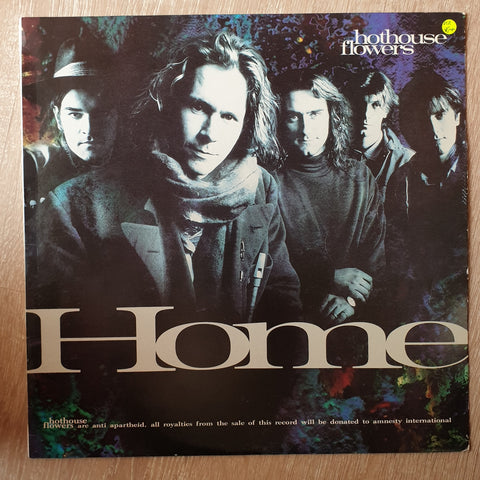 Hothouse Flowers ‎– Home - Vinyl LP Record - Opened  - Very-Good+ Quality (VG+)