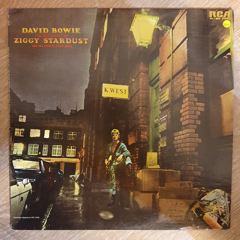 David Bowie ‎– The Rise & Fall Of Ziggy Stardust & The Spiders From Mars  - Vinyl LP - Opened  - Very-Good+ Quality (VG+) - C-Plan Audio