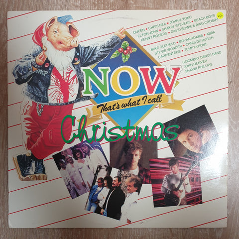 Now That's What I call Christmas -  Vinyl LP Record - Opened  - Very-Good+ Quality (VG+)