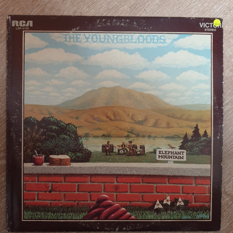 The Youngbloods ‎– Elephant Mountain - Vinyl Record - Opened  - Very-Good+ Quality (VG+)