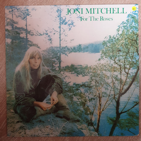 Joni Mitchell ‎– For The Roses - Vinyl Record - Opened  - Very-Good+ Quality (VG+)
