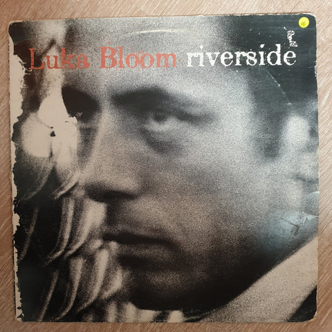 Luka Bloom ‎– Riverside - Vinyl LP Record - Opened  - Very-Good Quality (VG)