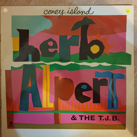 Herb Alpert & The Tijuana Brass ‎– Coney Island -  Vinyl LP Record - Very-Good+ Quality (VG+)