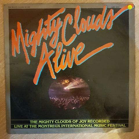 The Mighty Clouds Of Joy ‎– MIghty Clouds Alive ‎– Vinyl LP Record - Opened  - Good+ Quality (G+)