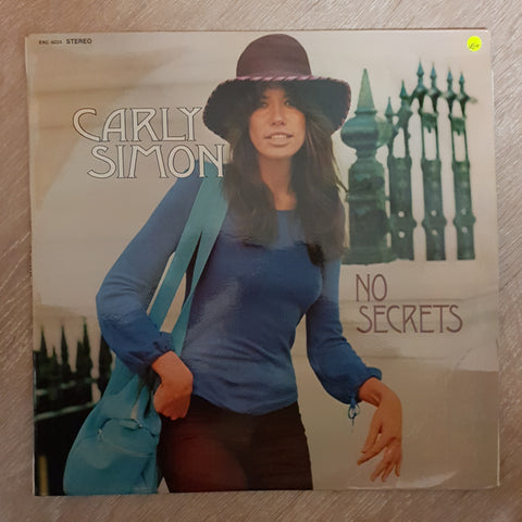 Carly Simon - No Secrets - Vinyl LP - Opened  - Very-Good+ Quality (VG+)