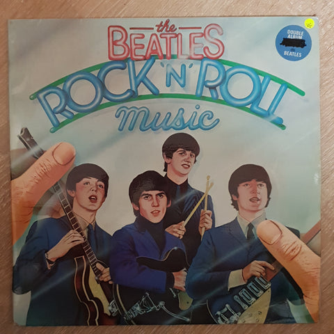 Beatles - Rock & Roll Music - Double Vinyl LP Record - Opened  - Very-Good Quality (VG) - C-Plan Audio