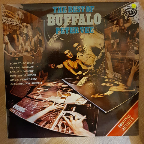 The Best of Buffalo - Peter Vee - Vinyl LP Record - Opened  - Very-Good+ Quality (VG+)