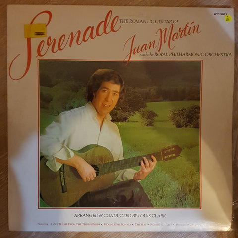 Juan Martín With The Royal Philharmonic Orchestra ‎– Serenade -  Vinyl Record - Very-Good+ Quality (VG+)