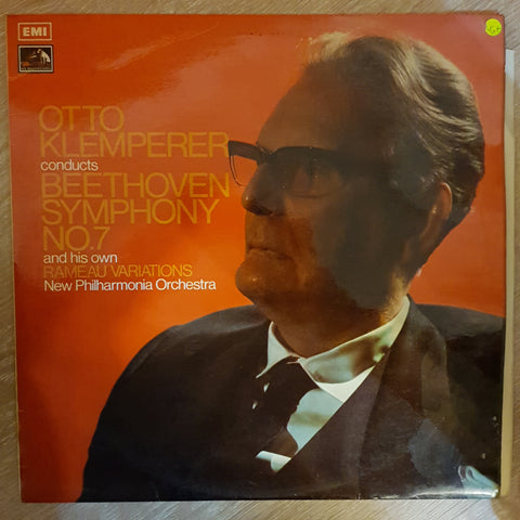 Ludwig van Beethoven - New Philharmonia Orchestra Conducted By Otto Klemperer ‎– Symphony No. 7/Rameau - Gavotte With Six Variations -  Vinyl Record - Very-Good+ Quality (VG+)