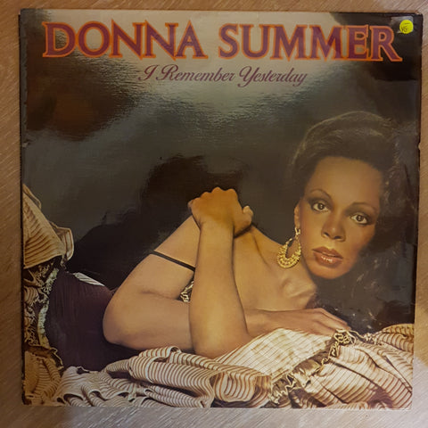 Donna Summer - I Remember Yesterday - Opened  - Very-Good- Quality (VG-)
