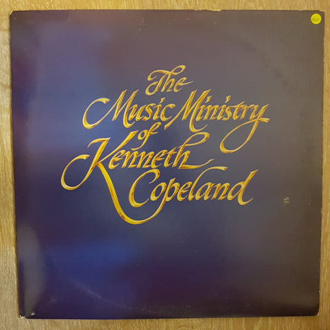 The Music Ministry of Kenneth Copeland - Vinyl LP Record - Opened  - Very-Good+ Quality (VG+)