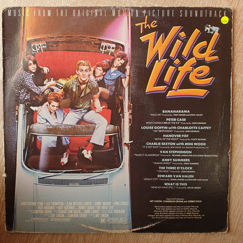 The Wild Life - Music From The Original Motion Picture Soundtrack - Original Artists - Vinyl LP Record - Very-Good+ Quality (VG+)