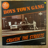 Boys Town Gang - Cruisin' The Streets  - Vinyl LP - Opened  - Very-Good+ Quality (VG+)