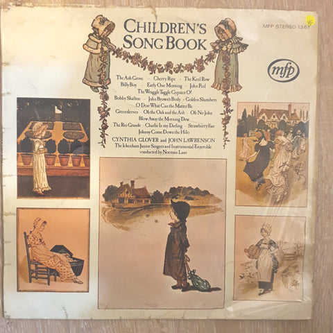 Cynthia Glover, John Lawrenson ‎– Children's Song Book - Vinyl LP Record - Opened  - Very-Good Quality (VG)
