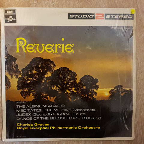 Royal Liverpool Philharmonic Orchestra, Charles Groves ‎– Reverie - Vinyl LP Record - Opened  - Very-Good Quality (VG)