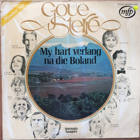 Goue Sterre - My Hart Verlang Na Die Boland -  Vinyl LP Record - Very-Good+ Quality (VG+)