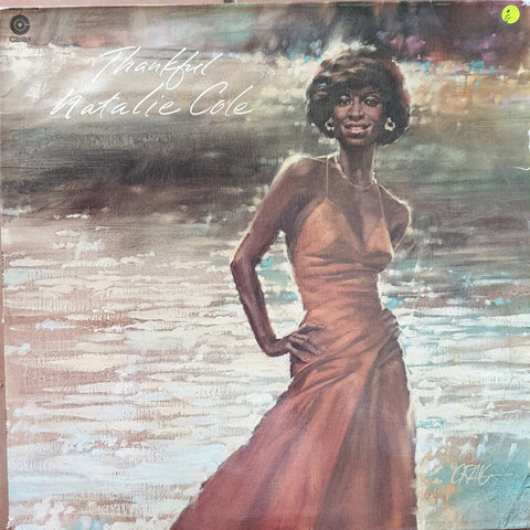 Natalie Cole - Thankful -  Vinyl LP Record - Opened  - Good Quality (G)