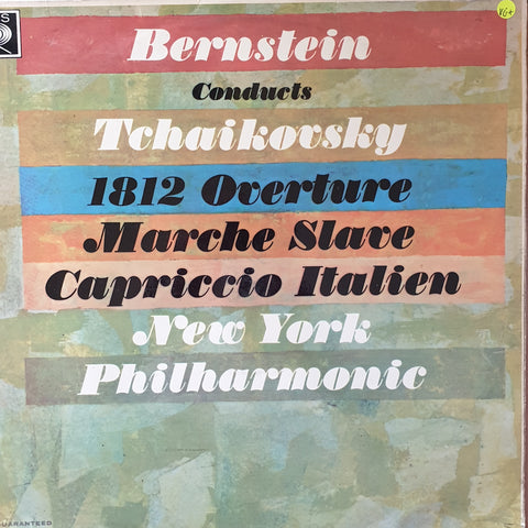 Bernstein Conducts New York Philharmonic - Tchaikovsky 1812 Overture.... -  Vinyl LP Record - Very-Good+ Quality (VG+)