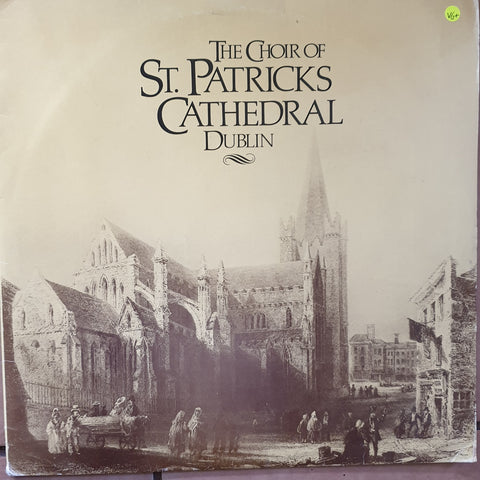 The Choir Of St. Patrick's Cathedral Dublin -  Vinyl LP Record - Very-Good+ Quality (VG+)