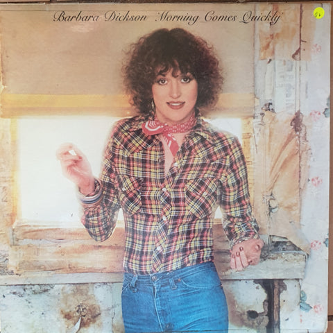 Barbara Dickson ‎– Morning Comes Quickly ‎– Vinyl LP Record - Opened  - Good+ Quality (G+)