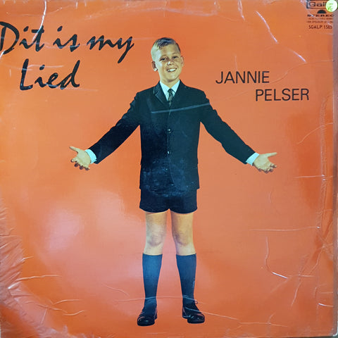 Jannie Pelser - Dit Is My Lied - Vinyl LP Record - Opened  - Very-Good- Quality (VG-)
