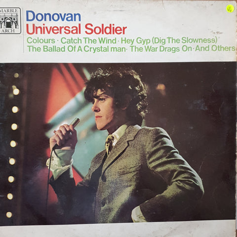 Donovan - Universal Soldier - Vinyl LP Record - Opened  - Very-Good- Quality (VG-)