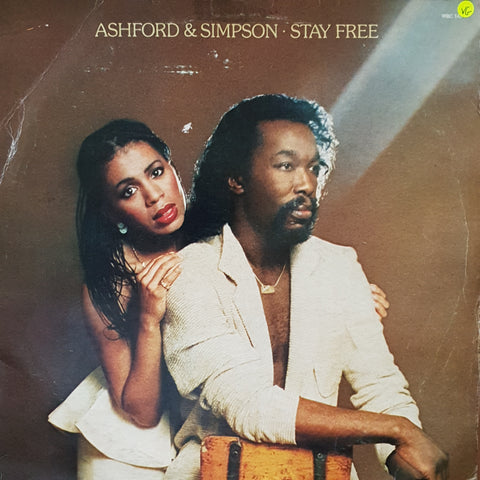Ashford & Simpson ‎– Stay Free - Vinyl LP Record - Opened  - Very-Good Quality (VG)