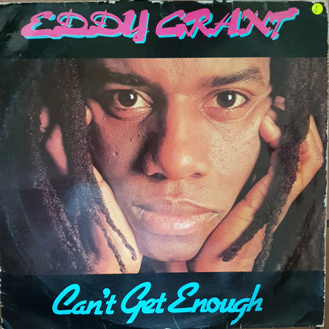 Eddy Grant - Can't Get Enough - Vinyl LP Record - Opened  - Good Quality (G)