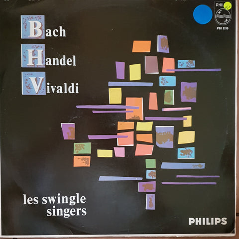 Les Swingle Singers ‎– Bach, Handel, Vivaldi (Jazz) -  Vinyl LP Record - Very-Good+ Quality (VG+)