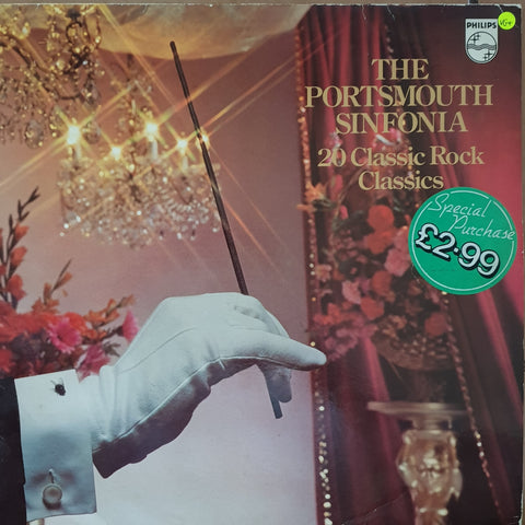 Portsmouth Sinfonia ‎– 20 Classic Rock Classics -  Vinyl LP Record - Very-Good+ Quality (VG+)