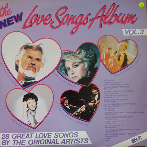 The New Love Songs Album - Vol 3 - Vinyl LP - Opened  - Very-Good+ Quality (VG+)