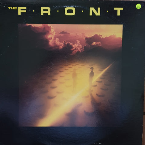 The Front  ‎– The Front -  Vinyl LP Record - Very-Good+ Quality (VG+)