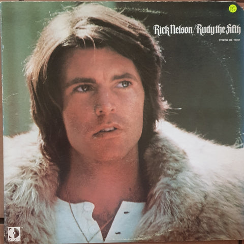 Rick Nelson & The Stone Canyon Band ‎– Rudy The Fifth -  Vinyl LP Record - Very-Good+ Quality (VG+)