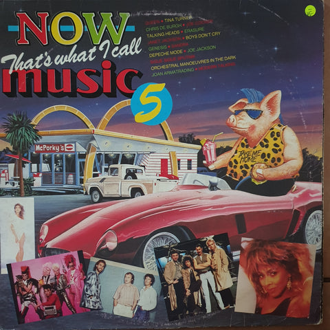 Now That's What I Call Music Vol 5 - Various - Original Artists- Vinyl LP Record - Opened  - Very-Good- Quality (VG-)