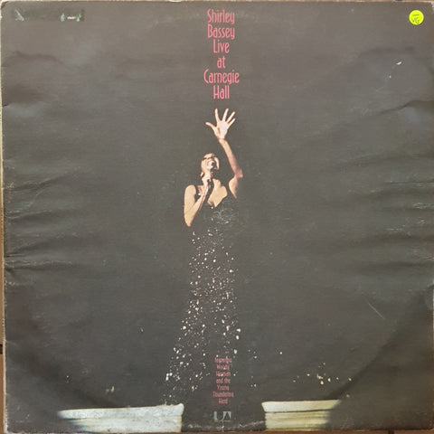 Shirley Bassey - Live At Carnegie Hall - Double Vinyl LP Record - Opened  - Very-Good- Quality (VG-)