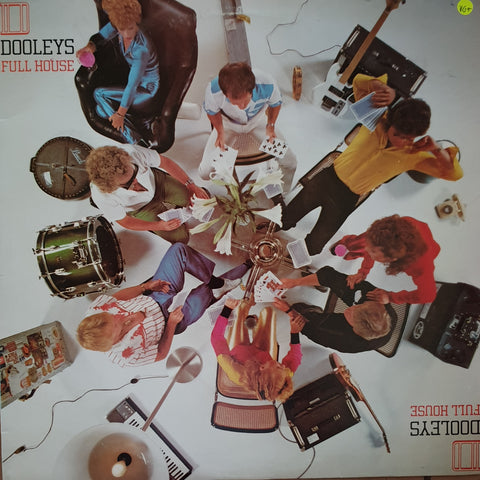 The Dooleys ‎– Full House -  Vinyl LP Record - Very-Good+ Quality (VG+)