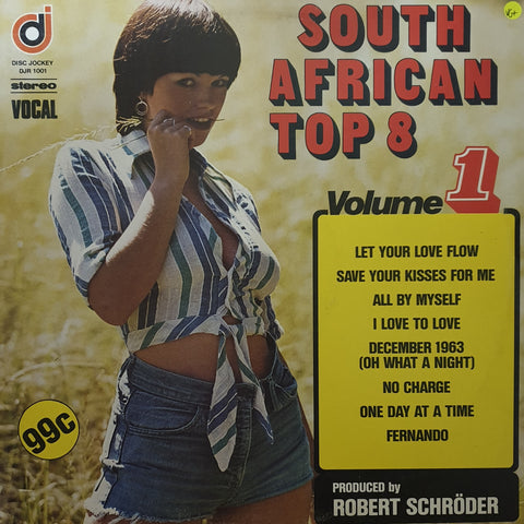 South African Top 8 - Vol 1 -  Vinyl LP Record - Very-Good+ Quality (VG+)