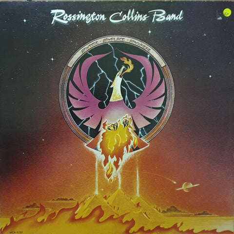 Rossington Collins Band ‎– Anytime, Anyplace, Anywhere -  Vinyl LP Record - Very-Good+ Quality (VG+)